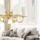 New Classical Vintage Brass Copper Chandelier