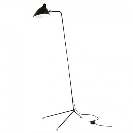 "Serge Mouille Standing Floor Lamp 63"""