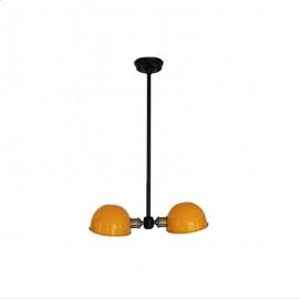 Industrial Iron Helmet Pendant light