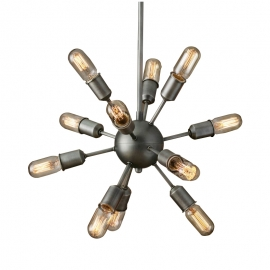 Industrial Edison Sputnik Pendant Light