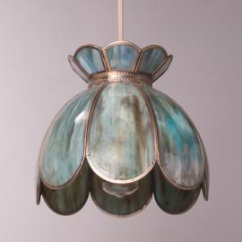 Glazed Glass Clear Glass Pendant Lamp