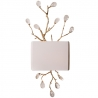 Crystal Golden Branch Wall Sconce