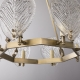 Classical Maple Leaf Brass Chandelier
