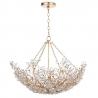 Regina Andrew Cheshire 6-Lights Bowl K9 Glass Floral Pendant