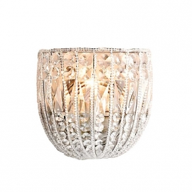 Elsa Crystal Sconce K9 Glass lustre