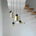 New Lighting CALÉ SUSPENSION Brass Copper Color Pendant