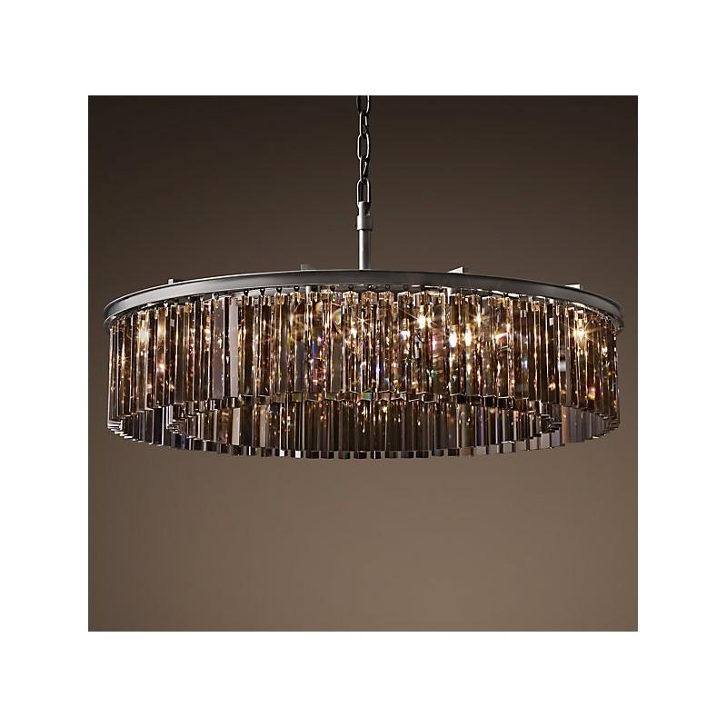 Rh rhys clear glass prism round crystal chandelier rh rhys clear glass prism round crystal chandelier 236 314 aloadofball Gallery