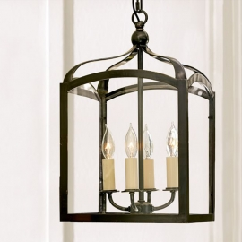 Country Style Gothic Indoor Outdoor Lantern Pendant Light
