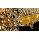 Vintage Style Globe Shpere Shape  Crystal Pendant Light