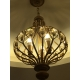 Vintage Country Crystal Rion Lantern Pendant Light