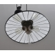 Three Lights Block and Tackle Metal Edsion Industrial Pendant light