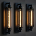 Grand Edison Caged Wall Lights