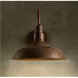 Industrial Wrought Iron Edison Wall lamp