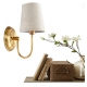 New Classical Brass with Lampshade