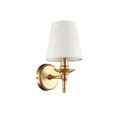 New Classical Brass with Lampshade B