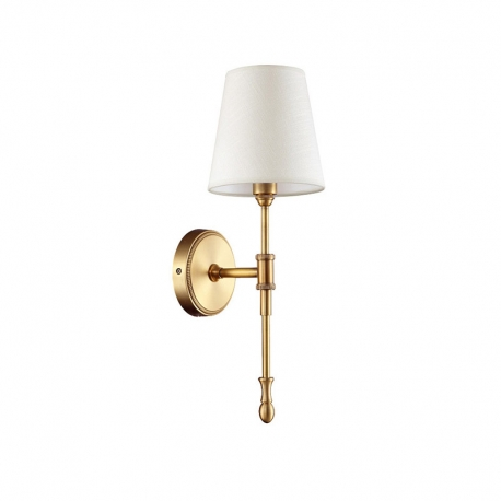 New Classical Brass with Lampshade C