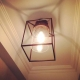 Vintage Bubble Glass Ceiling  Light