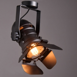 Iron Track Ceiling Lamp L