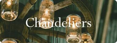 Industrial Vintage Retro Style Chandelier