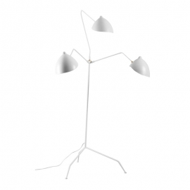 High Quality Replica Serge Mouille 3 Arms Standing Floor Lamp