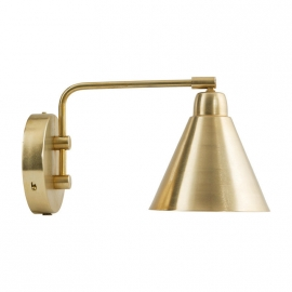 Nordic Brass Wall Sconce