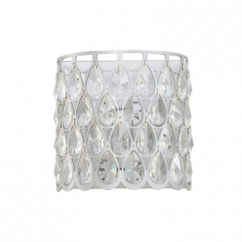 Teardrop K9 Crystal Sconce Glass lustre Wall Lamp