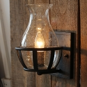 Industrial Style Vintage Bubble Glass Lampshade