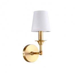 New Classical Brass with Lampshade D