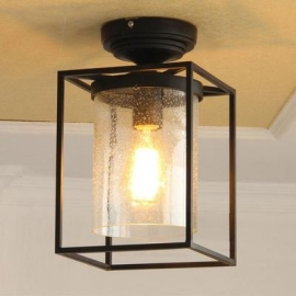 Vintage Bubble Glass Ceiling  Light